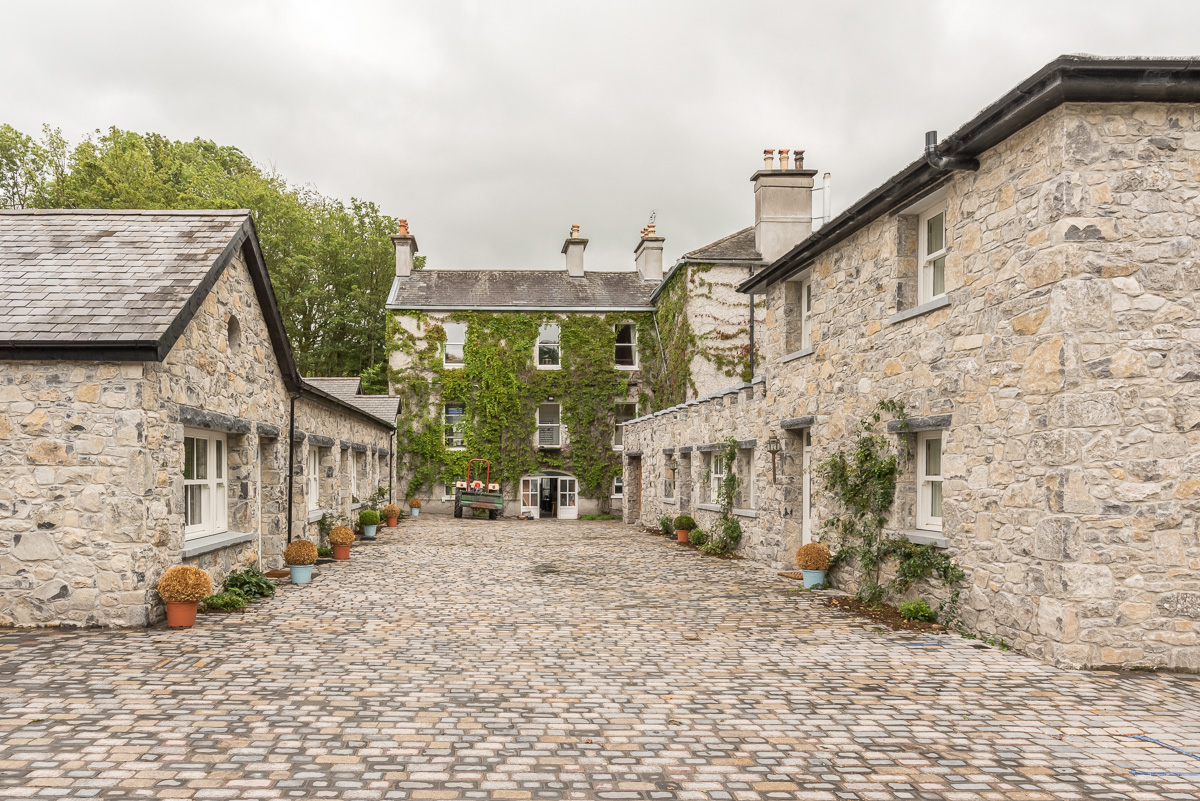 Guest Accommodation interior design courtyard coach houses Tipperary hotel Ireland