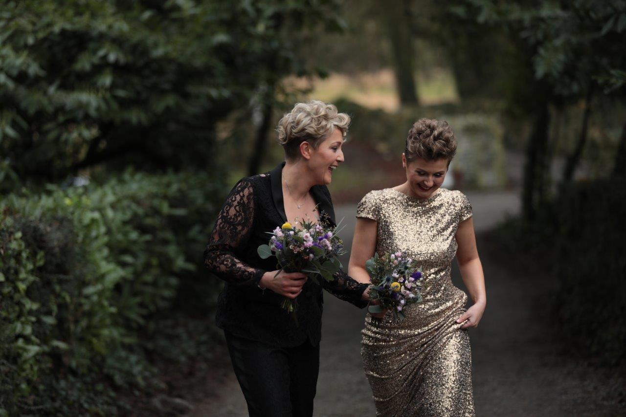 bride and bride equality wedding