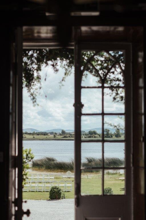 lakeside wedding country house
