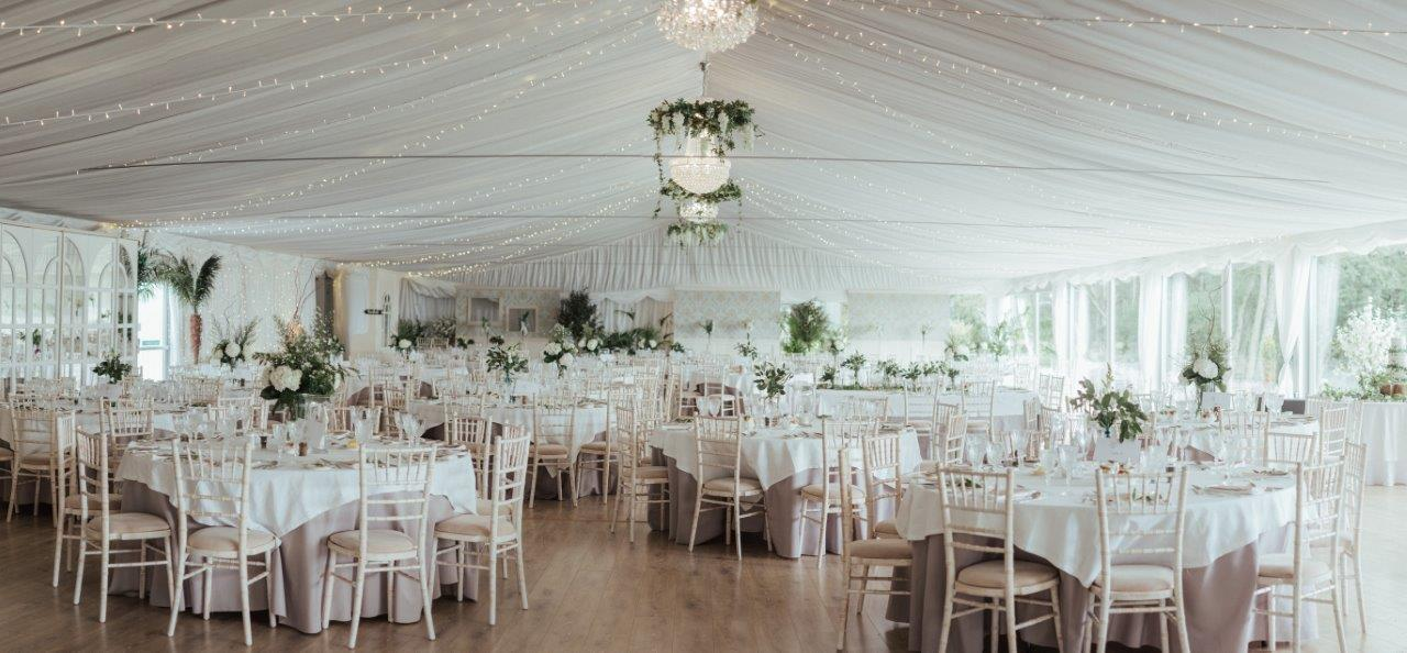 Wedding Pavilion for up to 300 guests Ireland