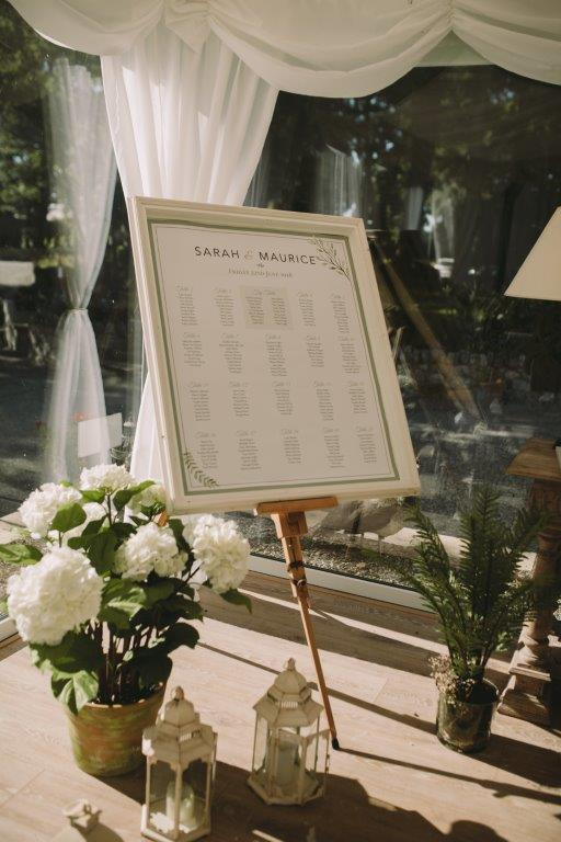 wedding table plan wedding decoration